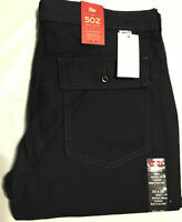 NWT MEN'S LEVI'S 502 BATTALION STRAIGHT LEG JEANS PANT SELECT SIZE $60 NAVY