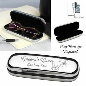 Personalised Glasses Case Engraved 40th 50th 60th Birthday For Her Him Gifts