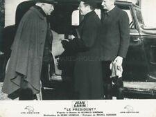 JEAN GABIN  ALFRED ADAMLE PRESIDENT 1961 PHOTO ORIGINAL #15