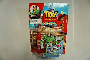 Toy Story Buzz Lightyear With Flying Rocket Action Thinkway Toy Disney 1995
