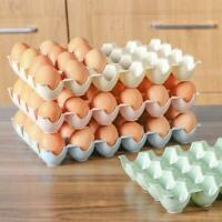 24 Grids Egg Storage Case Holder Box Eggs Tray Container For Fridge&Freezer New