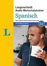 Langenscheidt Wortschatztrainer Spanisch f. Fortgeschrittene - MP3-CD NEU OVP