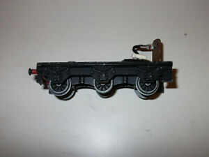 Hornby Dublo Castle 3 rail locomotive tender chassis needs plungers or spares