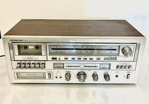 SoundDesign PLL 5832 AM/FM Stereo Receiver Cassette 8 Track Recorder Not Tested