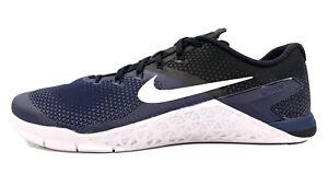 Nike Metcon Cross Training Shoes Navy White Black AH7455-402 Men Size 15