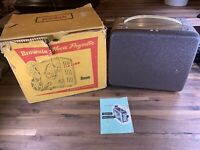 Kodak Brownie Movie Projector 8mm Model 1, with Original Box Vintage USA Tested