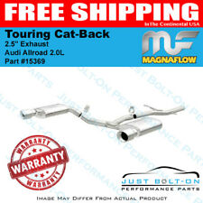 """Magnaflow 2.5"""" Touring Cat-Back Exhaust for 2013-2016 Audi Allroad 2.0L 15369"""