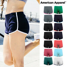 American Apparel Women's interlock running short (7301) - Gym Hot Summer Pants