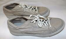 NEW G STAR RAW 3301 MENS UK 7 EUR 42 BEIGE CANVAS LACE UP DECK SHOES TRAINERS