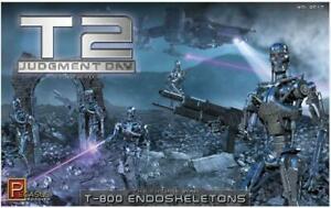 Pegasus 9017 T2 Judgment Day Movie T-800 Endoskeletons Diorama model kit 1/32