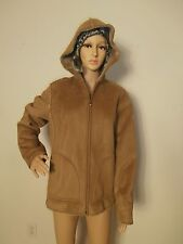Aeros Women's Warm Jacket, size M, beige