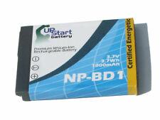 SONY CyberShot Camera Battery NP-BD1 NP-FD1 BC-CSD DSC-T2 DSC-T900 T70/W T500 G3