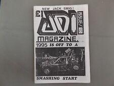 Adi Magazine Issue 10 - Incarace Banger Fanzine 1995