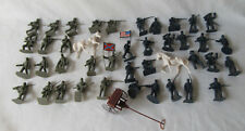 Lot of 42 Plastic Toy Soldiers Civil War Series North and South LOOK