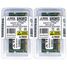 2GB KIT 2 x 1GB Dell Latitude D520 D530 D531 D620 D630 D630 XFR Ram Memory