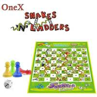 Mini Ludo Snakes and Ladders Traditional Children kids & Family Board Game