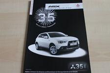 138772) Mitsubishi ASX - 35 Jahre - Prospekt 05/2012