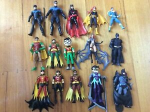Batman Robin Nightwing Batgirl Batwoman Figure