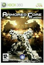 Armored Core: For Answer (Microsoft Xbox 360, 2008) - NEW/SEALED - PAL RELEASE
