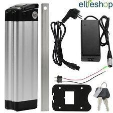 USB Fish 36V15Ah(555Wh) Lithium-ion E-Bike Battery Cycle Lockable Silver