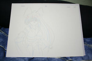 Authentic Art High School DxD Born Akeno Himejima Drawing Ep8 ~19m50s Frame C6