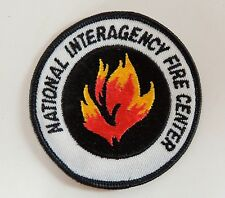 National Interagency Fire Center Patch NIFC Vtg New Boise ID Flames Firefighter