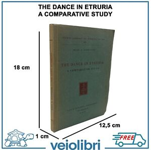 THE DANCE IN ETRURIA Johnstone libro archeologia Danza etruschi etruscologia