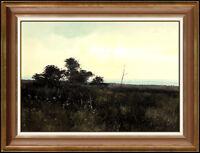 Michael Coleman Oil Painting on Board Original Landscape Signed Vintage Artwork