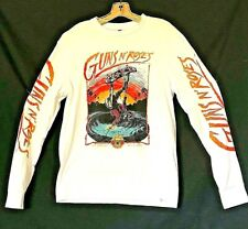 Guns N' Roses Long Sleeve Consert Shirt 2017 black frog ent. bravado merch.