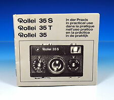 Rollei 35 / 35T / 35S In der Praxis in practical use D/E/F/I/S/H - (101274)