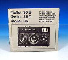 Rollei 35/35t/35s en la práctica en practical use d/e/f/i/s/H - (101274)