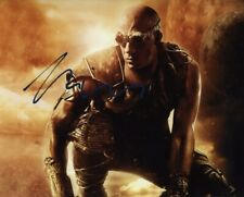 """Vin Diesel """"The Chronicles Of Riddick� Original Autograph Hand Signed 8x10 w/Coa"""