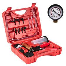 2 In 1 Brake Bleeder & Vacuum Pump Gauge Test Tuner Kit Tools DIY Hand Tools