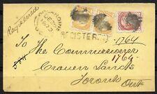 Doyle's_Stamps: Kincardine, Canada, Postal History: 1873 Cover to Toronto, Ont.