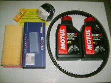 REPLACEMENT KIT COMPLETE MOTUL 300V 5W-40 GILERA NEXUS 500 + ROLLS MALOSSI