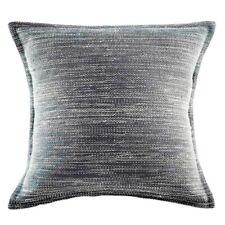 "New Kas Room Australia Arlo Euro Pillow Sham in Striped Dark Grey 26"" x 26"""