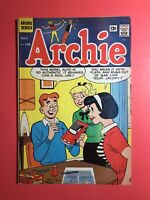ARCHIE #156 HIP QUIPS! Couch Coach! Woman Scorned & Bully! Silver Age 1965