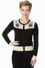 BANNED Thin Knit Jumpers & Cardigans Button for Women