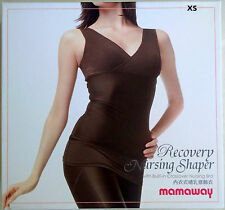 Mamaway Recovery Nursing Shaper with Built-In Crossover Nursing Bra size XS BNIB