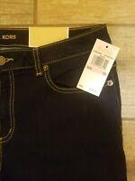 New MK stretch Jeans Michael Kors [$98] Blue or White Izzy skinny full leggings