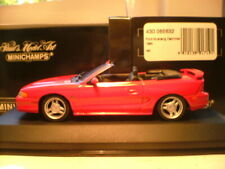 EXTREMELY RARE EARLY MINICHAMPS 1/43 1994 FORD MUSTANG GT CABRIOLET SUPERB NLA