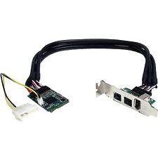 StarTech MPEX1394B3 StarTech.com 3 Port 2b 1a 1394 Mini PCI Express FireWire Car
