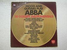 ABBA MOOG & GUITARS PLAY ABBA  RARE LP RECORD vinyl  AUSTRALIA vg