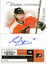 SEAN COUTURIER 2011-12 Panini Contenders Calder Contenders Rookie Auto RC #/800