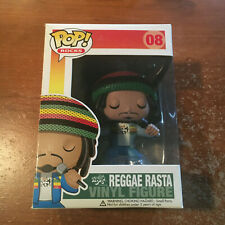 New ListingFunko Pop Rocks # 08 Reggae Rasta Very Rare Very Hard To Find *Sale*