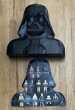Vintage Star Wars Figure Lot 1970s 80s W/ Darth Vader Head collector case