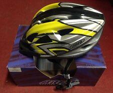 Casco Bici Areo VS L Bike Helmet Bicycles Road MTB Yellow Silver