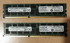Crucial 16GB (8GBx2) DDR3L-1066 240pin Server RAM CT8G3ERSLQ81067