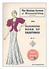 The Haslam System of Dresscutting No. 13 1930's - Copy