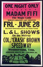 Original Madam Fi Fi Window Card